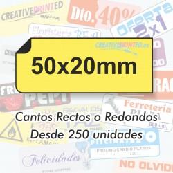 Adhesivos 50x20