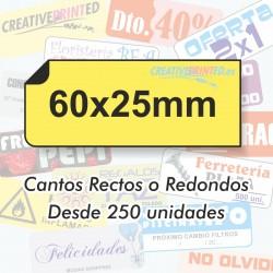Adhesivos 60x25