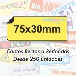 Adhesivos 75x30