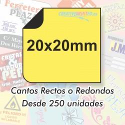 Adhesivos 20x20