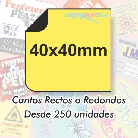 Adhesivos 40x40