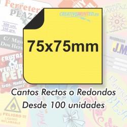 Adhesivos 75x75