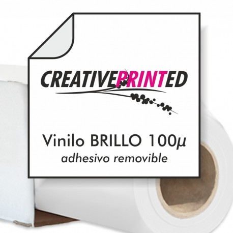 Vinilo Brillo 100 µ Removible
