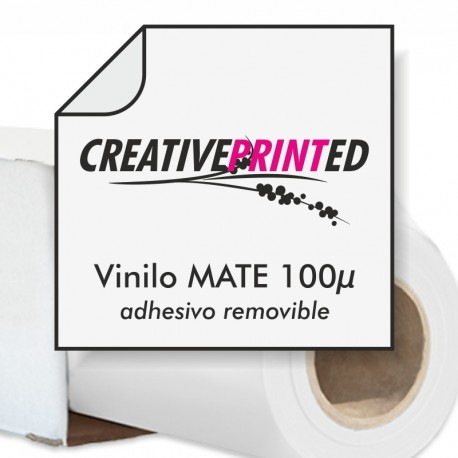 Vinilo Mate 100µ Removible