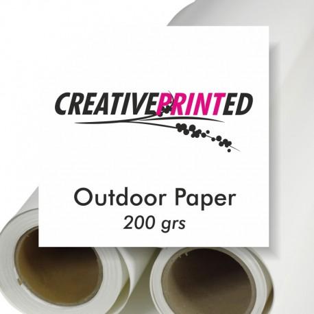 Outdoor Paper 200grs