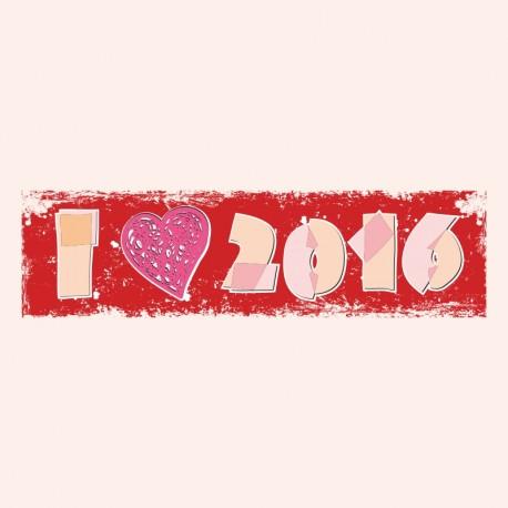 I love 2016