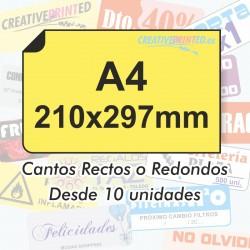 Adhesivos A4