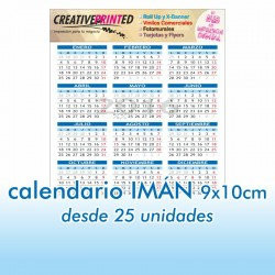Calendario IMAN 9x10
