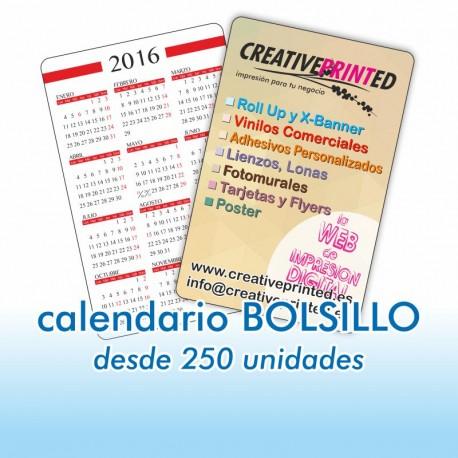 Calendario Bolsillo 5,5x8,5