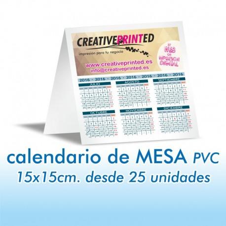 Calendario de Mesa 15x15